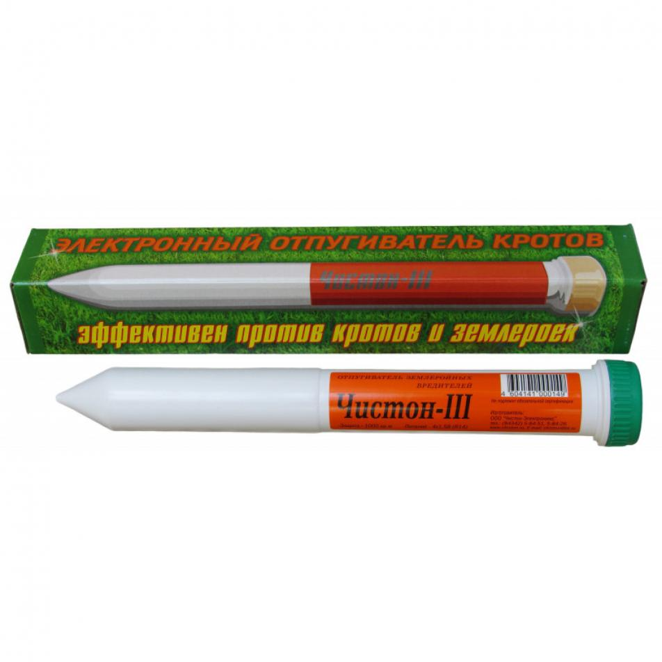 Отпугиватель Кротов «Чистон-3»