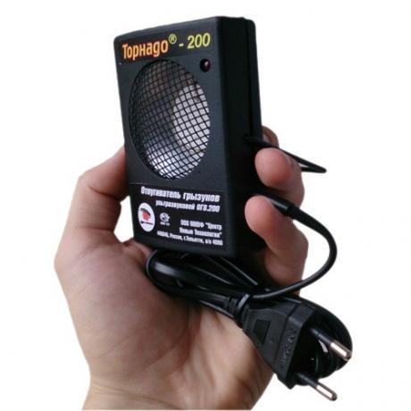 Торнадо 200 - ультразвуковой отпугиватель грызунов: крыс и мышей