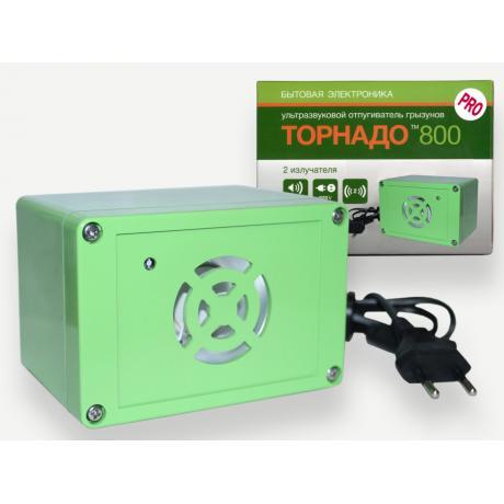 Ультразвуковой отпугиватель Торнадо 800 PRO