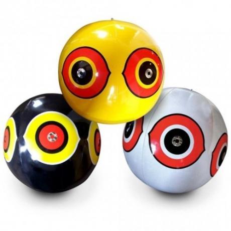 Отпугиватель птиц Глаза хищника, комплект из 3 шаров