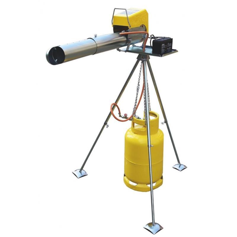 "Отпугиватель птиц гром-пушка электронная ""Zon EL08 Telescope"" фото"