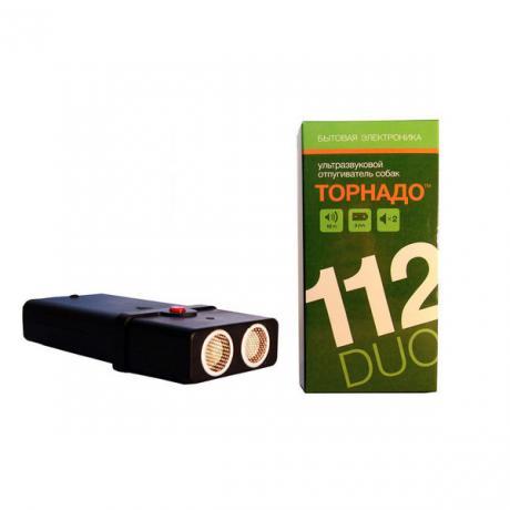Торнадо 112 Duo - ультразвуковой отпугиватель собак с двумя излучателями