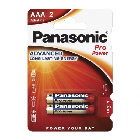 Мизинчиковая алкалиновая батарейка PANASONIC AAA 1.5V PRO