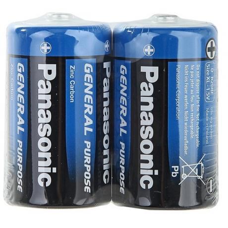 Солевая батарейка Бочонок PANASONIC D 1.5V GENERAL